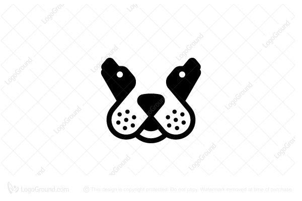 Unique Dog Logo Dog Logo Design Pet Logo Design Dog Logo