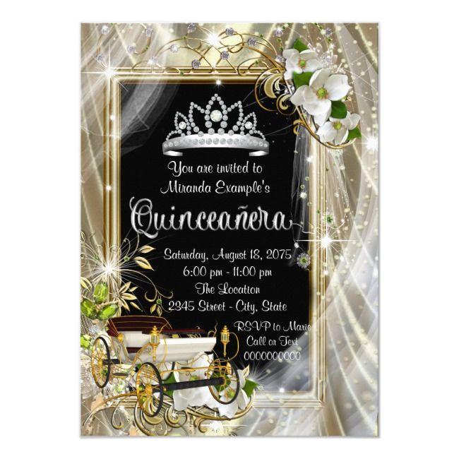 Create Your Own Invitation Zazzle Com Quinceanera Invitations Quinceanera Invitations