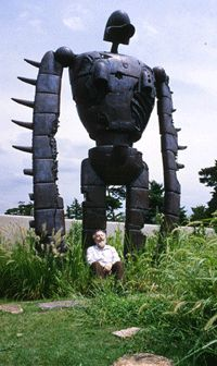 The official site of Ghibli Museum, Mitaka in Japan | Our Guardian - The Robot Solider on the Rooftop #tokyo #japan