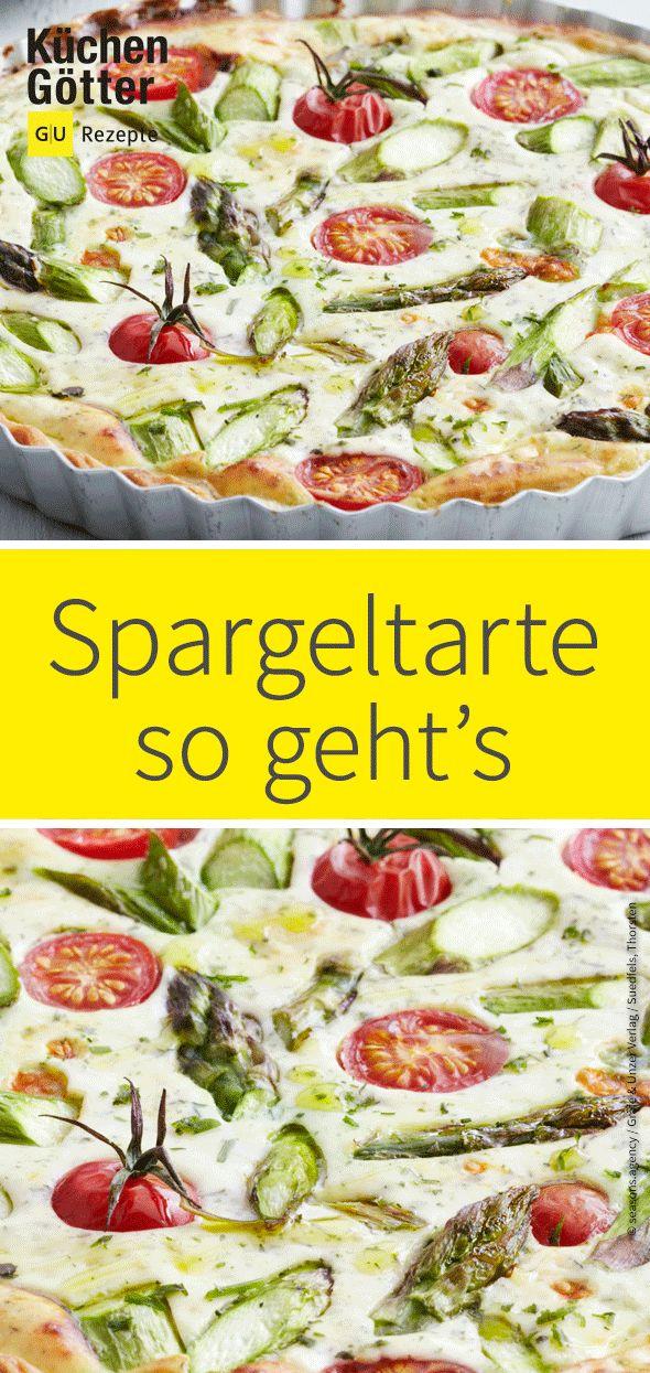 Spargeltarte mit Ricotta – Küchengötter