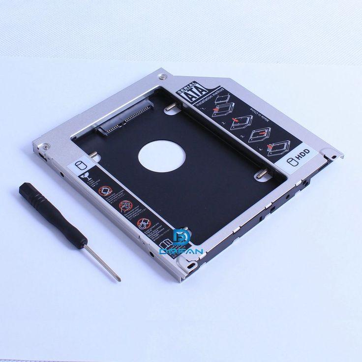 Apple Macbook Pro Unibody 2nd HDD SSD SATA bay hard drive caddy opti superdrive #ssd for #macbookpro