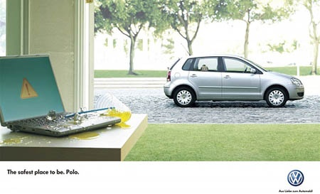 VW Polo AD: The Safest place to be