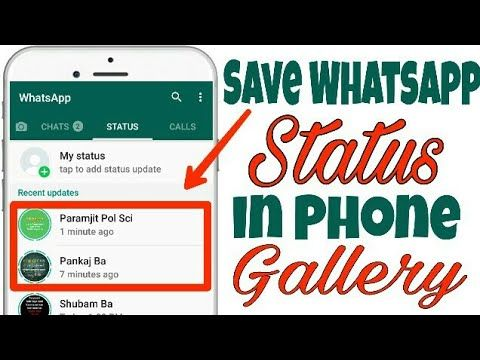 How To Save Download Whatsapp Status Pictures And Videos