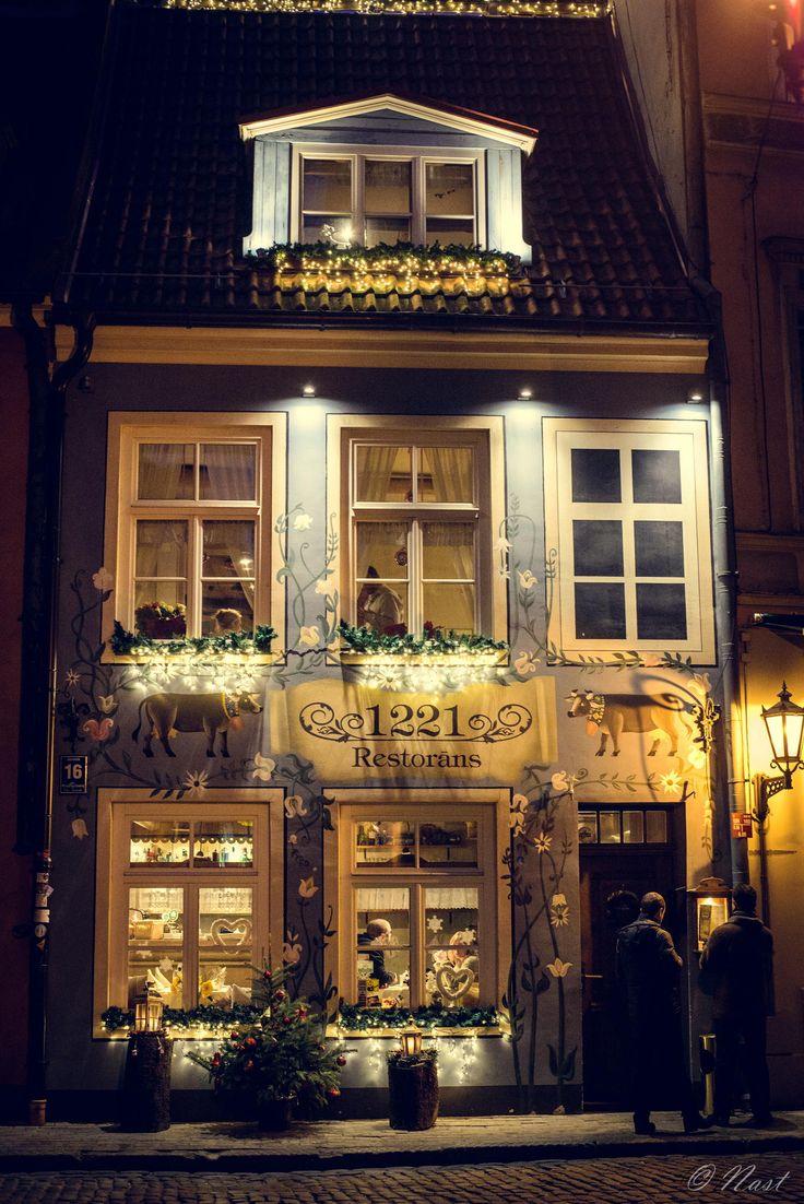 Cosy restaurant - Riga, Latvia