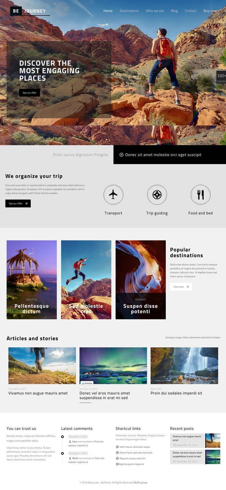 Travel Blog Wordpress Template | Download http://themeforest.net/item/betheme-responsive-multipurpose-wordpress-theme/7758048?ref=sinzo