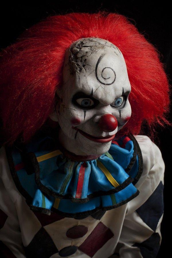 Dead Silence Puppet | Dead Silence Movie Prop Evil Clown Horror Puppet Haunted Dummy Doll
