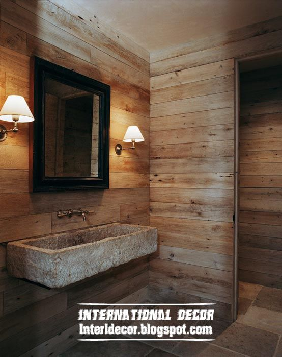 11 best wood bathrooms images on Pinterest Bathroom ideas Room