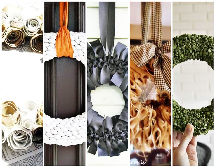 10 DIY wreaths.  Sweet.  Also, can I say how much I LOVE Ashley @lil blue boo for gathering all these fantastic tutorials!  Seriously.  She's a rock star.  :)