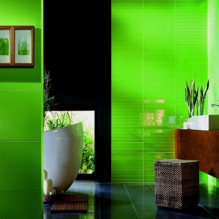 Light Green Bathroom Floor Tiles