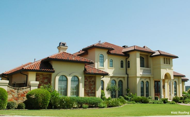 1000 images about orange tiled roof on pinterest stucco for Mediterranean roof styles