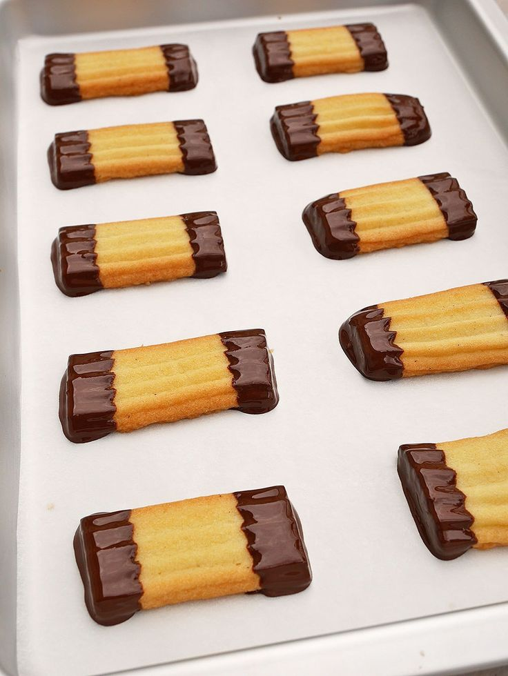Chokladdoppade strasskakor