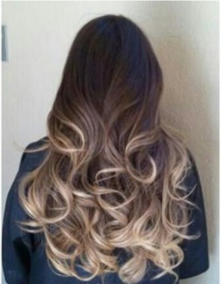 Balayage Highlights and Ombre. Much more natural than traditional highlights.