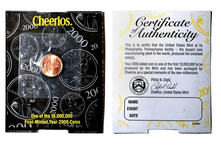What is a Cheerios Penny? Discover what a Cheerios Penny is and why The United States Mint had them placed in boxes of Cheerios cereal.