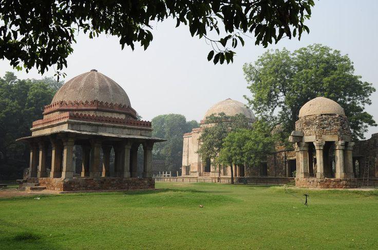 Tombs from the Delhi Sultanate, Hauz Khas Village, New Delhi