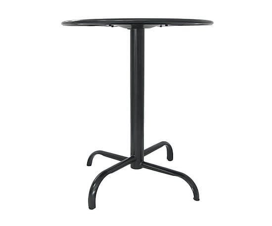 Mesa de metal liverpool negro proyecto mesas para for Mesa cristal liverpool