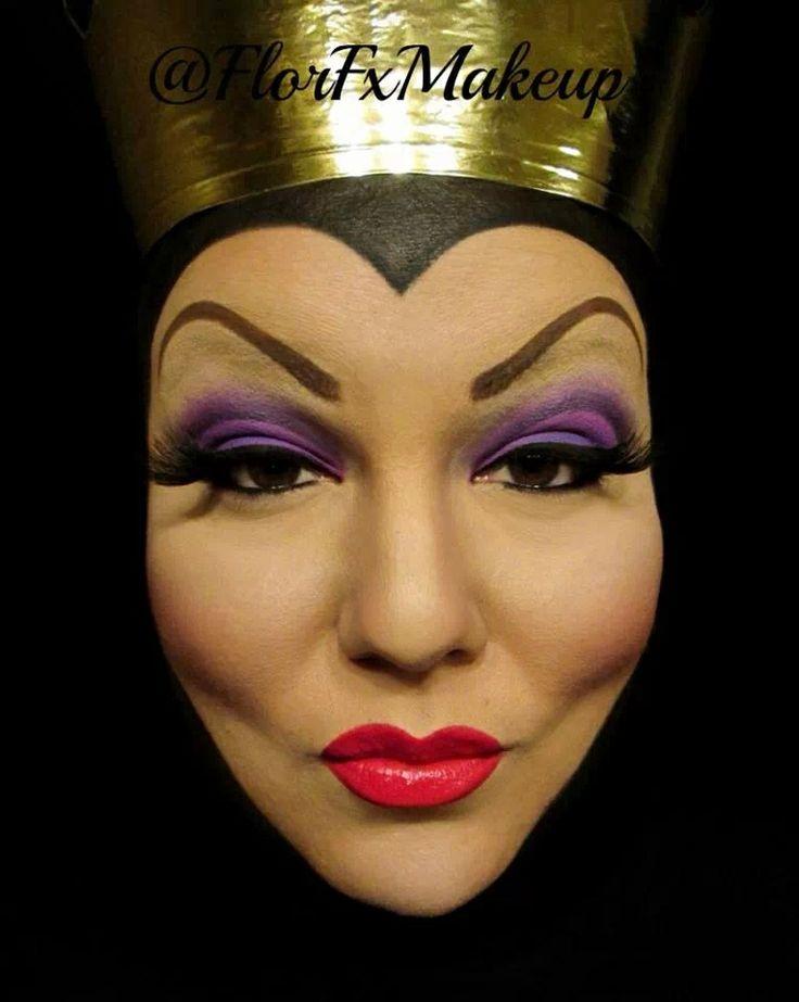 evil queen makeup - 736×923