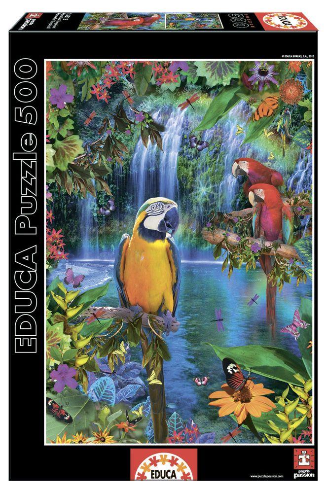 Пазл «Тропические птицы» Educa