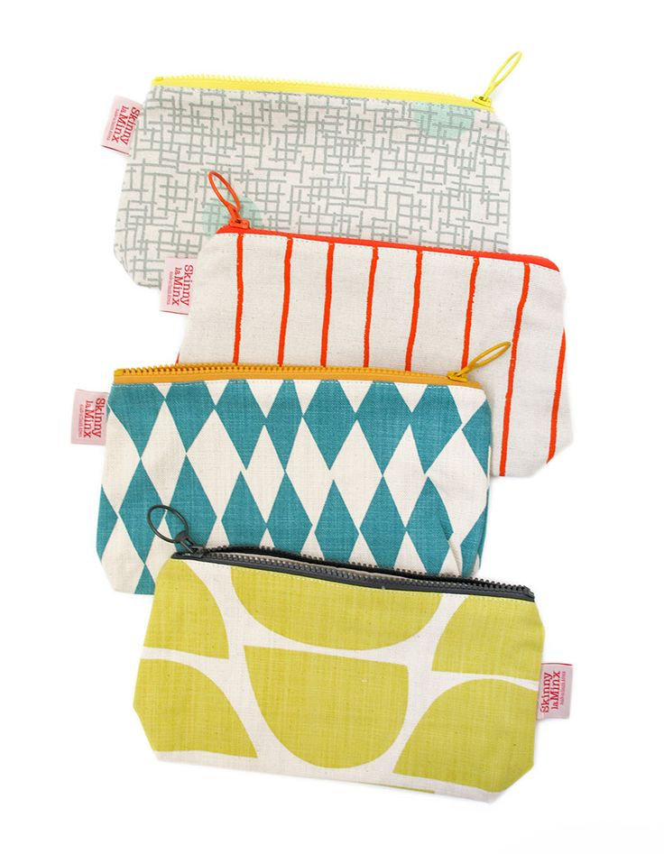 The Stash Bag by Skinny laMinx is the perfect way to keep yourself (and your handbag!) organized.
