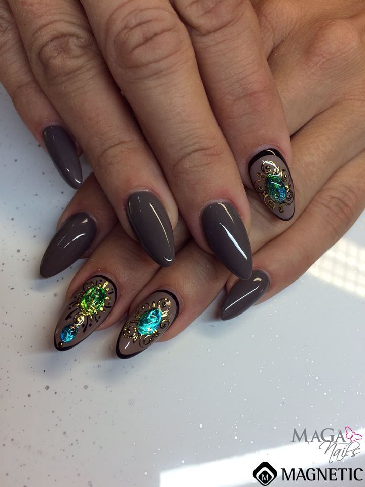 128 best nail art by magnetic images on pinterest magnetic nails folie design by magnetic naildesign prinsesfo Choice Image