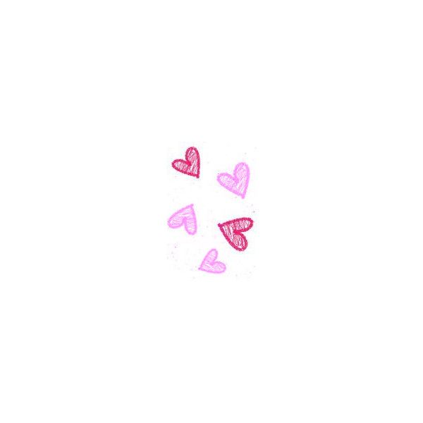 Pink and red heart doodle filler edited by lilmmh use!! ❤ liked on Polyvore