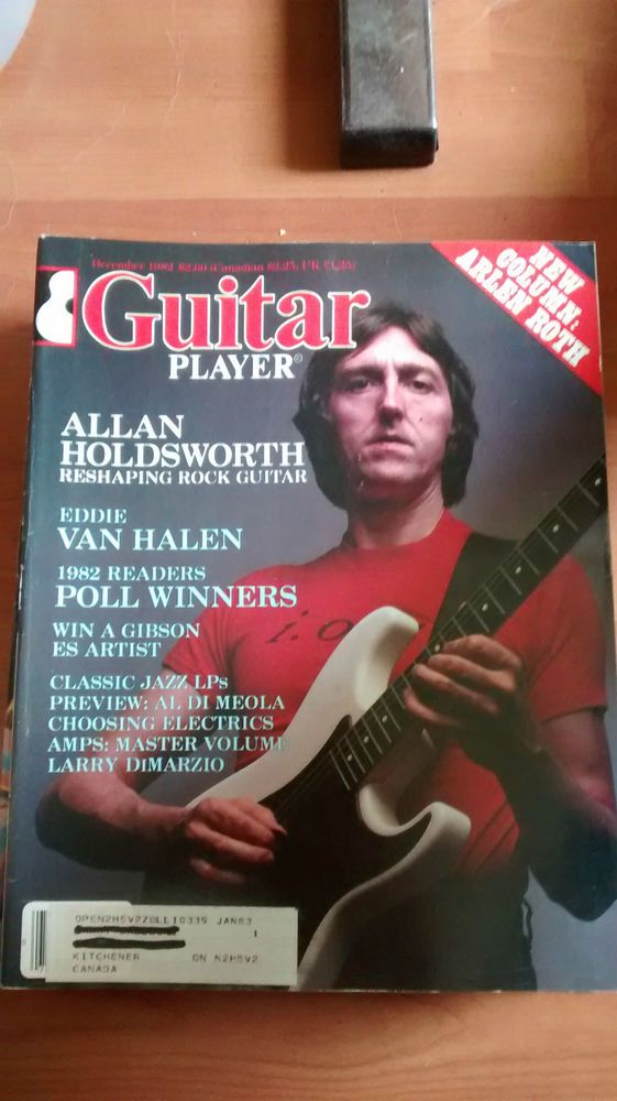 Guitar Player Mag good condition December 1982