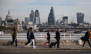 Brexit will 'stall' City, says Goldman Sachs chief