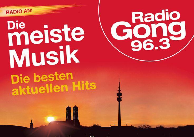 (2) Radio Gong 96,3  * Sendegebiet: München (Kanal 11C)  * Format: AC  * Motto: Radio Gong 96.3 ist der Sender für München und die Region und spielt die meisten Musik und die besten aktuellen Hits für die schönste Stadt der Welt. Dazu gibt es rund um die Uhr die wichtigsten Nachrichten aus München, Bayern und der Welt. Gong 96.3. Dein München, Deine Hits!