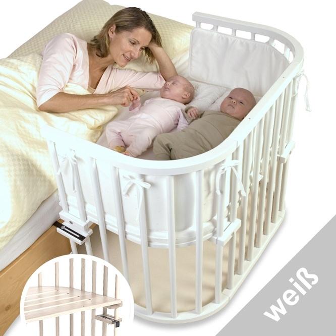 TOBI babybay maxi weiß lackiert extra belüfet - Babybetten - Möbel nach Themen - De Breuyn - Shop  199€