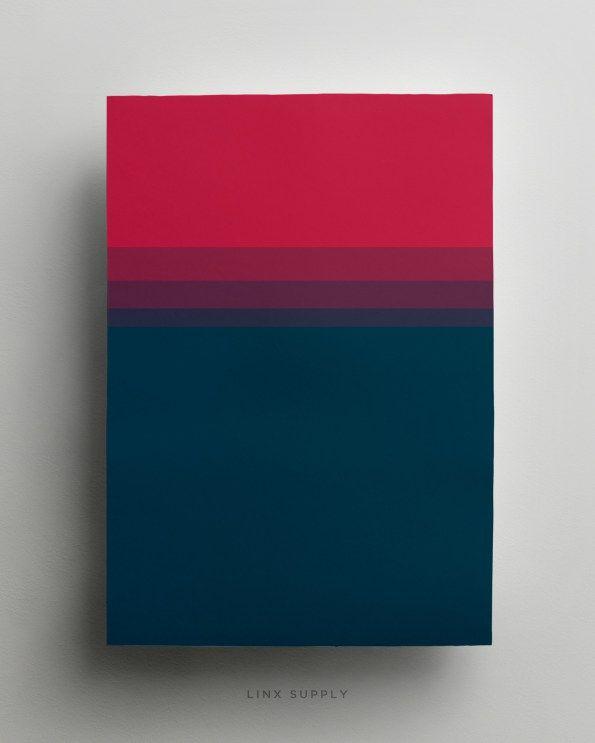 Last Night gradient poster - linxsupply.com.