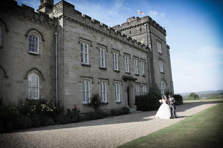 Chiddingstone Castle in Kent. Stunning Wedding Photography by www.davidblackshaw.com