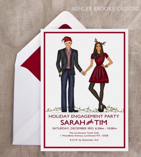 53 best images about Engagement Party – Christmas Engagement Party Invitations