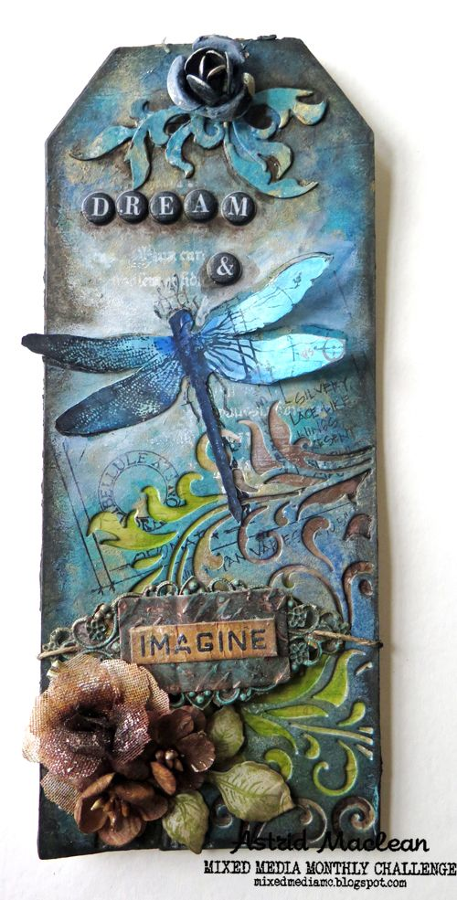 Astrid's Artistic Efforts: See post (base is long Prima Mixed Media tag and…