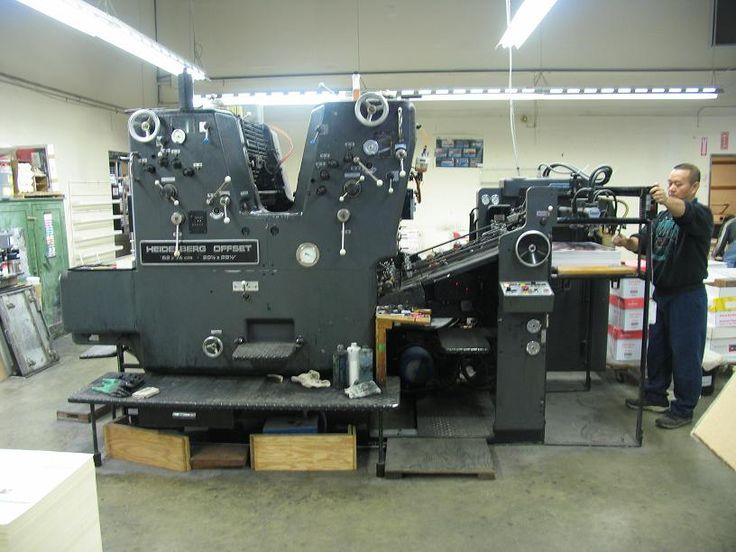 Printing pressman resume