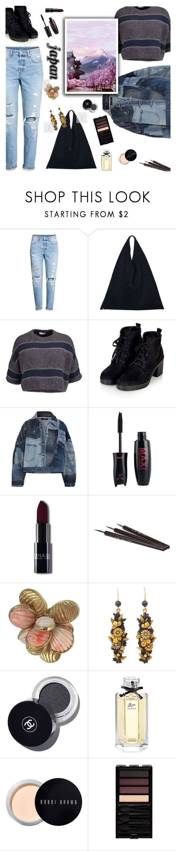 """Japan"" by janemorguedoe ❤ liked on Polyvore featuring MM6 Maison Margiela, Brunello Cucinelli, Dolce&Gabbana, Fuji, Giulia Colussi, Bobbi Brown Cosmetics and Serge Lutens"