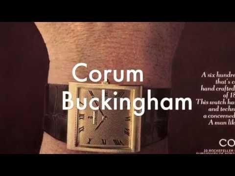 Orologi vintage - Corum Buckingham