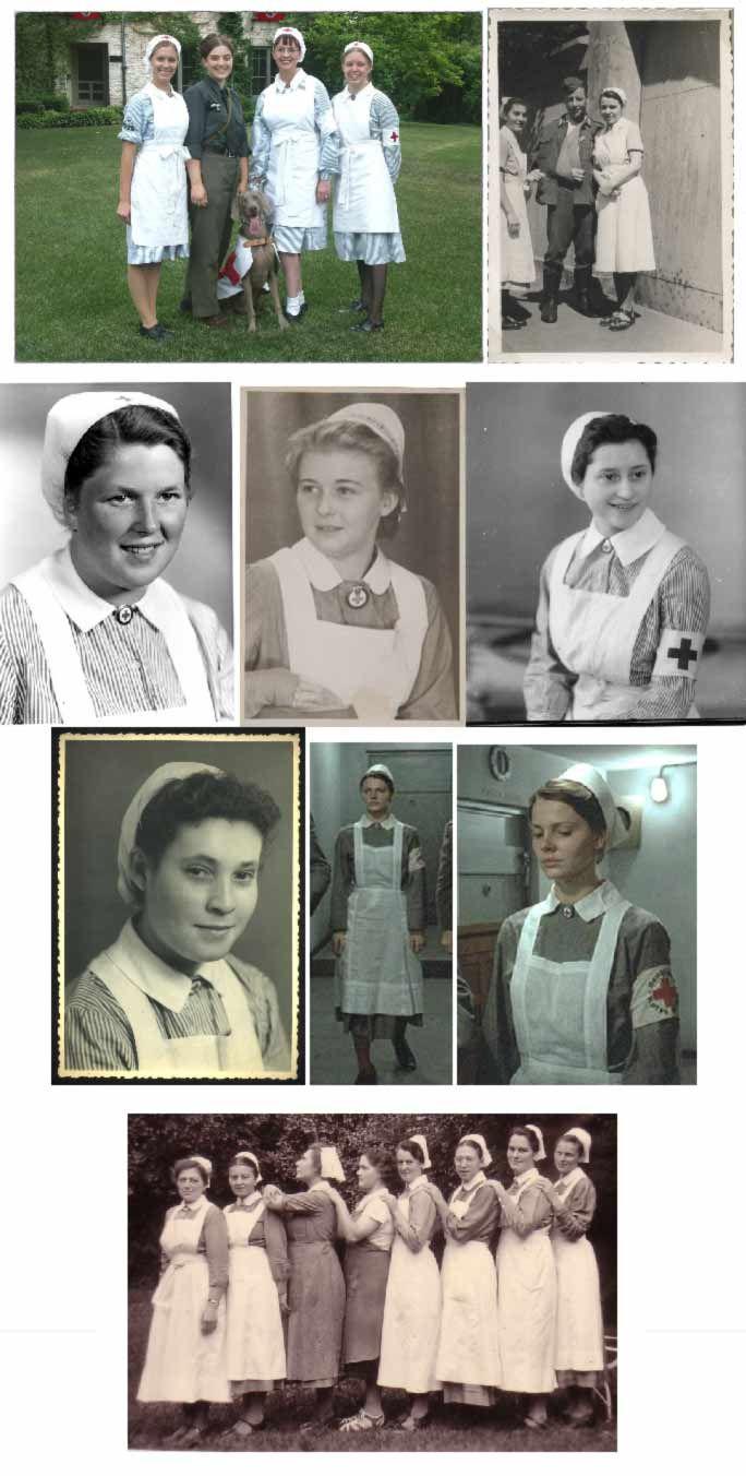 DRK (German Red Cross) uniform. In Daisies Last Forever, this is the uniform Ella Reinhardt wears.