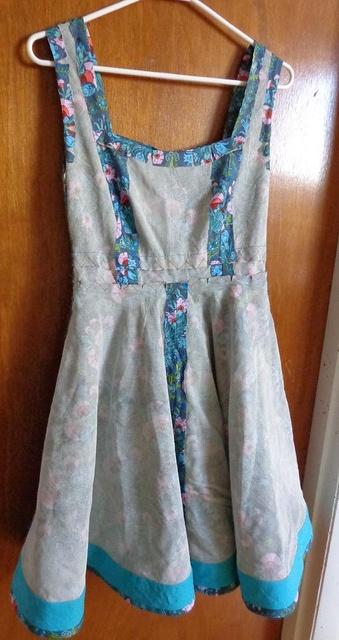 Couture dress front (in progress) by KittyKittyCrafts (Karissajo), via Flickr