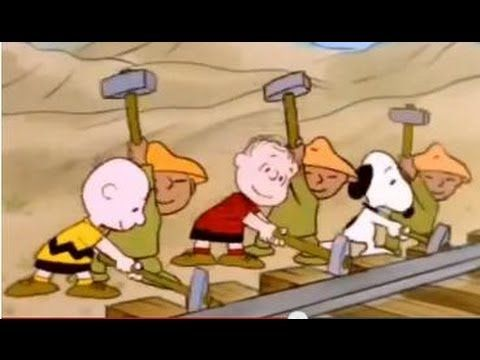 "This Is America, Charlie Brown Mini-Series: ""The Building of the Transcontinental Railroad"""