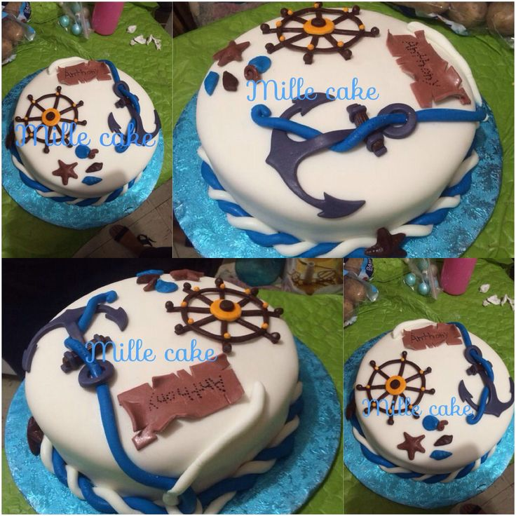 Cake de ancla