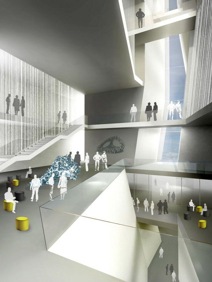 Finalista Concurso Escuela de Postgrado de Moda y Arte en Israel / Chyutin Architects (11)