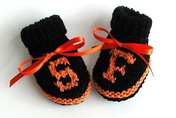 San Francisco Giants booties