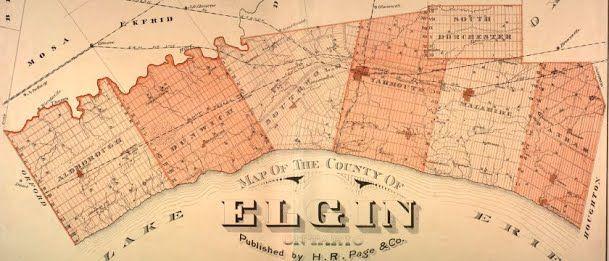 Elgin County Branch Ontario Genealogical Society blog