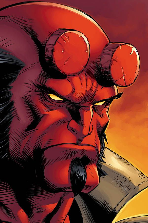 Hellboy by JPRart.deviantart.com on @deviantART