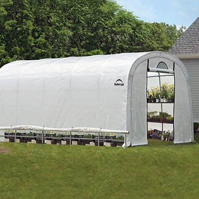 growit round greenhouse 12u0027 wide hobby greenhouse kits - Commercial Greenhouse Kits
