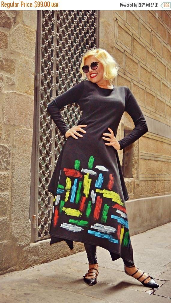 SALE 15% OFF Handmade Painted Maxi Dress TDK208 Extravagant https://www.etsy.com/listing/481413697/sale-15-off-handmade-painted-maxi-dress?utm_campaign=crowdfire&utm_content=crowdfire&utm_medium=social&utm_source=pinterest