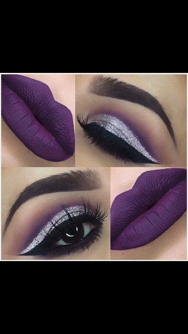 Purple Eyeshadow Tutorial: 17 Best Ideas About Purple Makeup On Pinterest