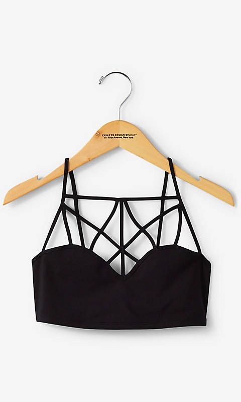 One Eleven Extreme Strappy Front Bralette | Express