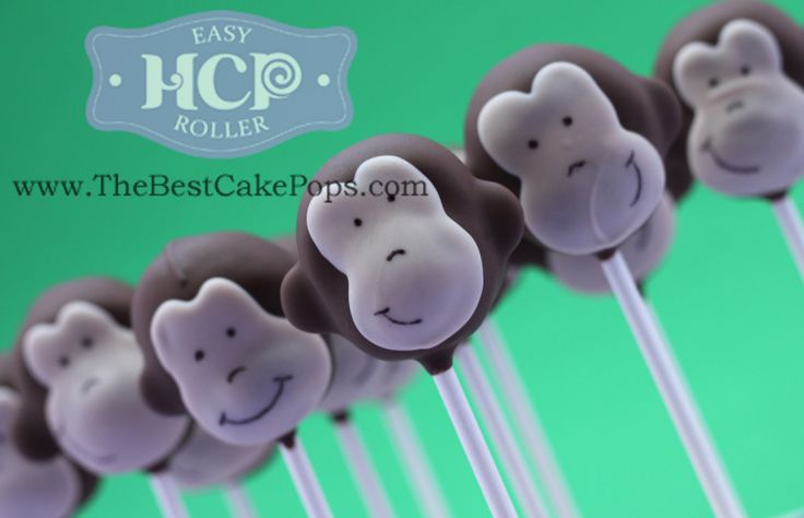Favorite Cake Pops ~By HCP Easy Roller ~ Curious George Monkey Cake Pops! Take a look at how we roll;)!