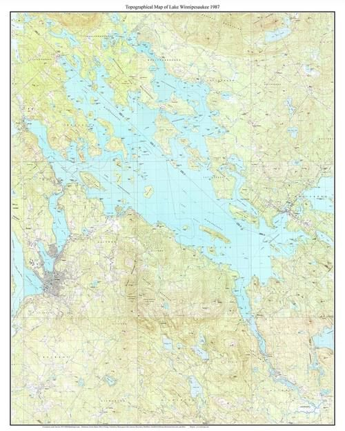 25 best New Hampshire Lakes Topo Maps images on Pinterest Cards