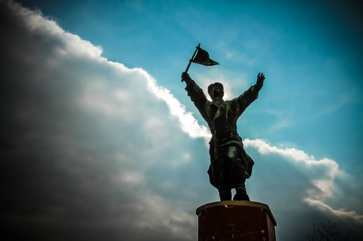 From the Memento Park in #Budapest